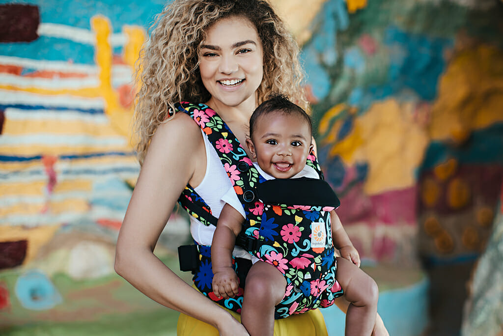 Ergobaby X French Bull NYC | Limited Edition 'Flores' Collection | Omni 360 Baby Carrier