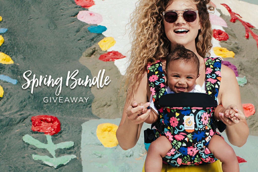 Ergobaby Ireland | Spring Bundle Giveaway | Prize includes an Omni 360 Baby Carrier in 'Flores'